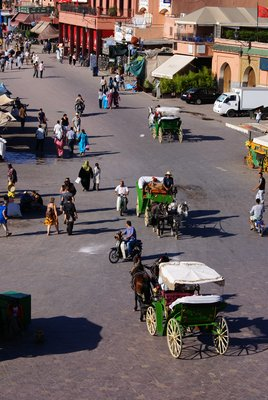 Djemaa el-Fna, Marrakech