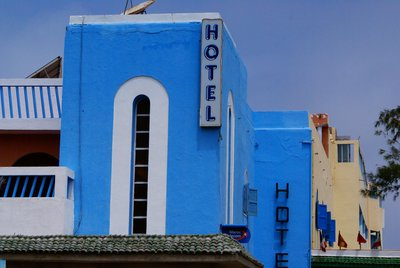 Art deco in Sidi Ifni