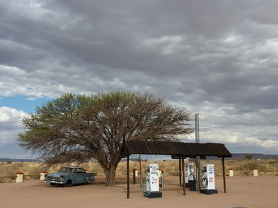 Namibian gas station