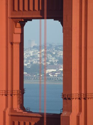Golden Gate window