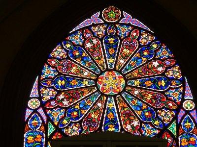 Stained Glass, Iglesia del Carmen