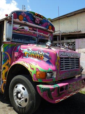Typical Panamanian Bus