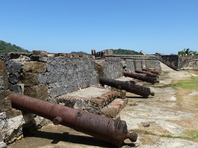 Fort and Canons, Portobelo