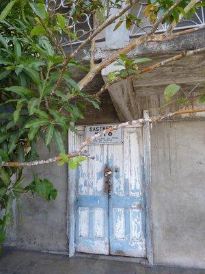 Boquete front door