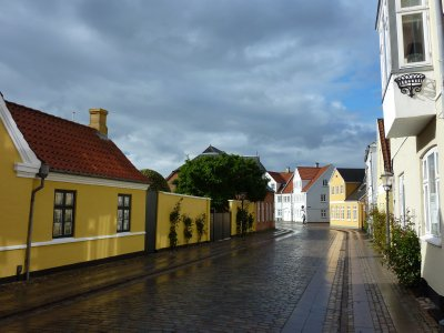 Sunshine after rain, Ribe