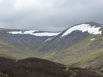 Late snow in the Cairngorms