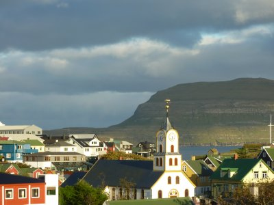 Tórshavn view towards Nolsoy