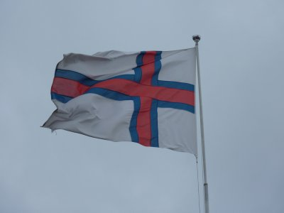 The Faroese flag