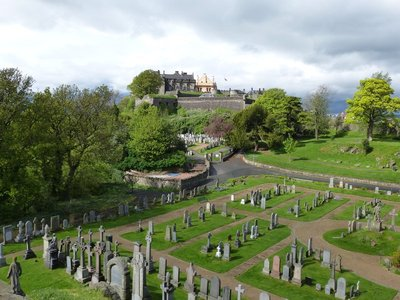 Graveyard and Castle