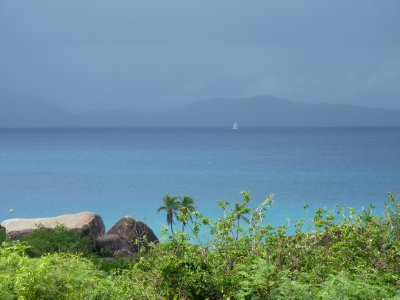 View towards Tortola from Virgin Gorda