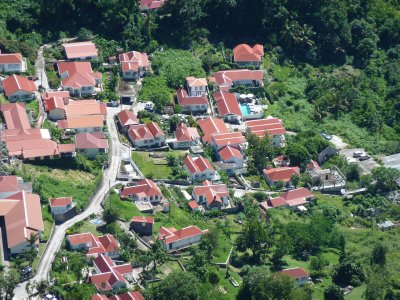 Windwardside houses, Saba