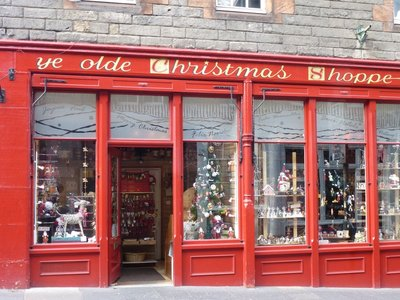 The Eternal Christmas Shop