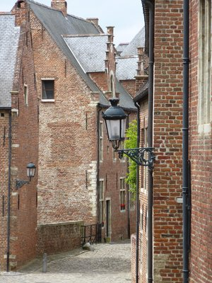 Leuven's Old Béguinage Street