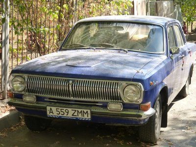 Old Sovjet Car