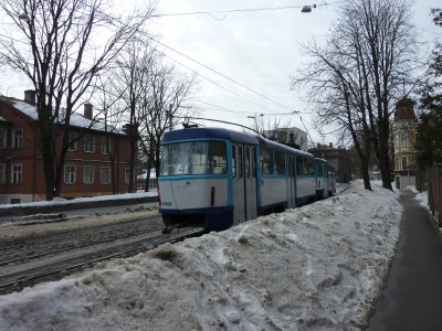 Riga's public transport