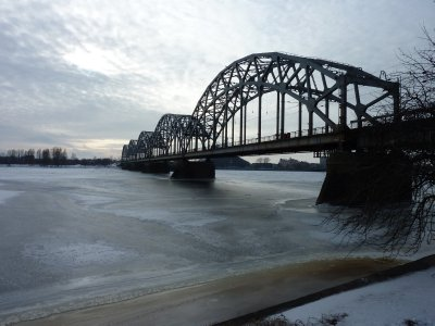Bridge over the Daugava River, Riga
