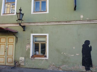 The eternal person on the wall, Tallinn