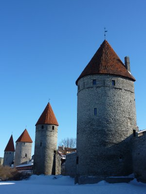 Lower-town walls, Tallinn
