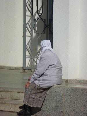 Woman at Nur-Astana Mosque