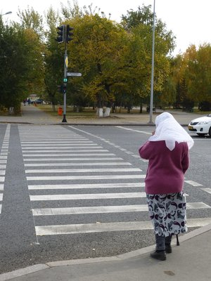 Time to cross the street