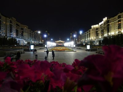 Astana By Night