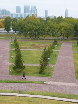Astana's main park