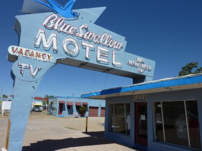 Blue Swallow Motel, Route 66, Tucumcari
