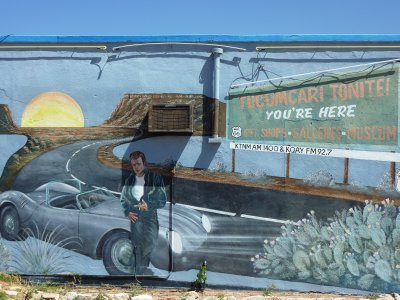 James Dean mural, Tucumcari, New Mexico