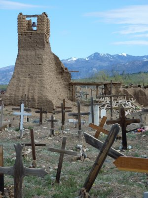 Taos pueblo cemetery