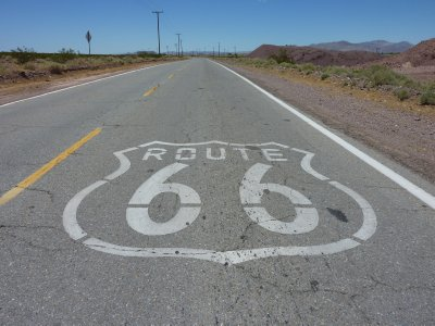 Route 66 from Bagdad Cafe to Barstow, California