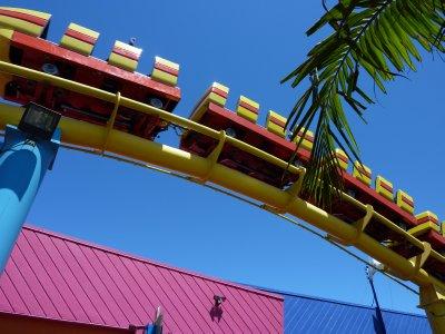 Santa Monica's rollercoaster, California