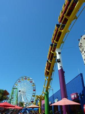 Rollercoaster, Santa Monica