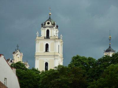 Baroque skyline of Vilnius
