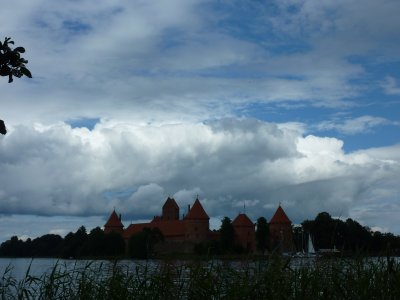 Clouds over Trakai