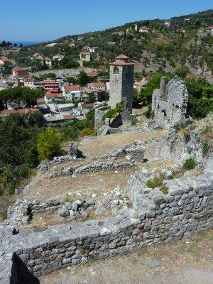 Stari Bar ruins and town