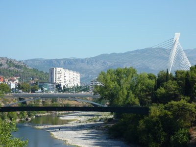 Podgorica river and bridge