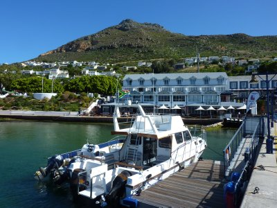 Simon&#39;s Town harbour, Cape Peninsula