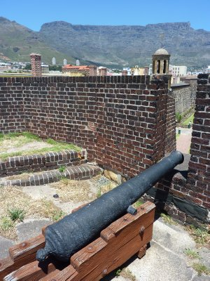 Castle of Good Hope Canon, Cape Town