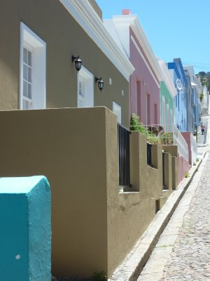 Bo Kaap street, Cape Town