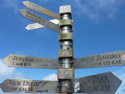 A long way from anywhere at Cape Point