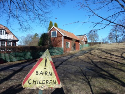 Those damn barn children...:)