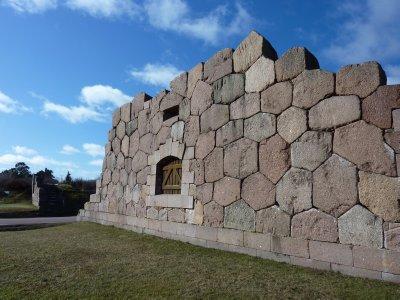 Ruins at Bomarsund