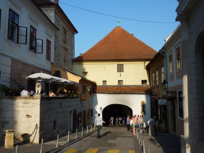 City gate, Zagreb