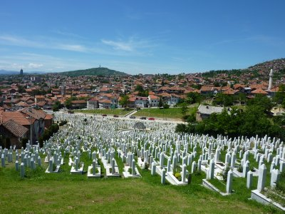 Kovaci Martyr&#39;s Cemetery, Sarajevo