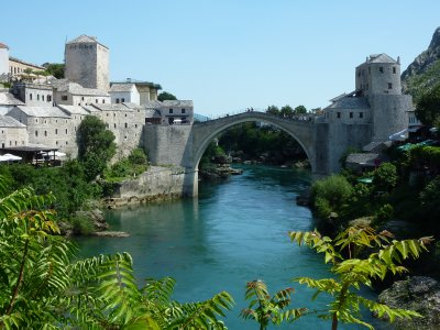 View over Mostar