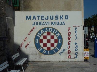 Hajduk Split mural