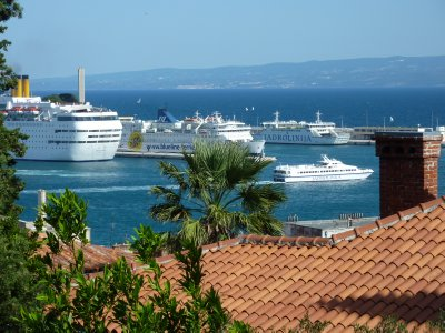 Split&#39;s harbour