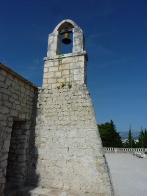 Old chapel on Marjan Hill, Split