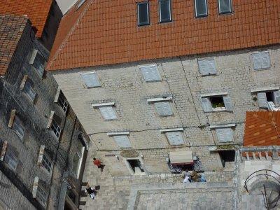 Old Trogir square