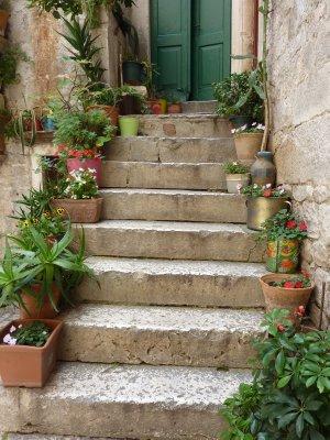 Trogir stairs